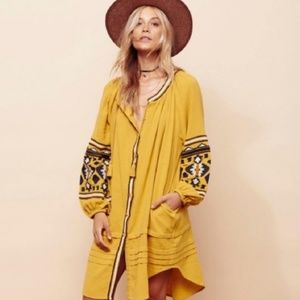 Free People | In the Clear Embroidered Dress - XS